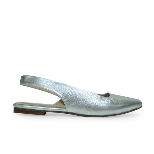 Baleta-plana-de-color-plata