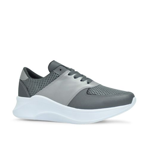 Tenis-de-color-gris