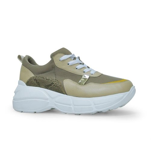 Tenis-de-color-beige