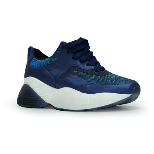 Tenis-plataforma-de-color-azul