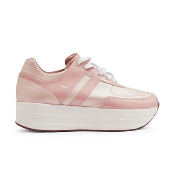 Tenis-de-color-rosado