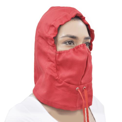 Capucha--Rojo