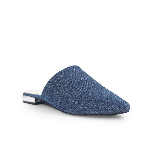 Zueco-plano-Nunzia-Azul-Talla-35