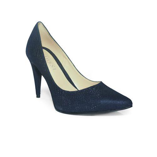 Tacones-Deharan-Azul-texturado-talla-35