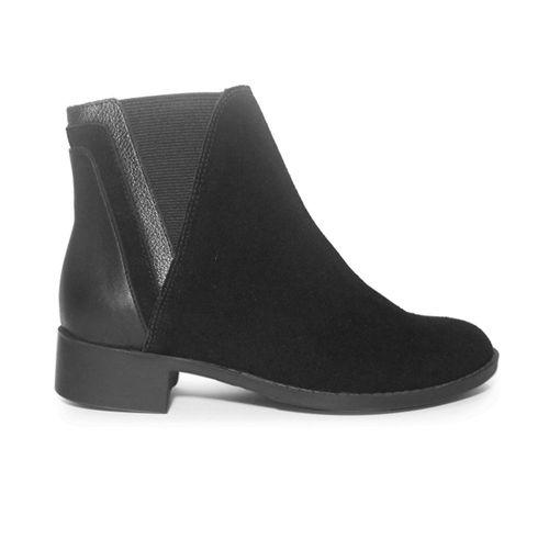 Botin-plano-Alysia-Negro-talla-35