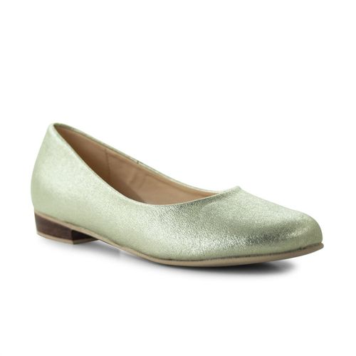 Baleta-plana-Giada-Oro-Talla-35