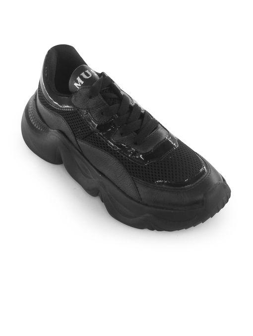 Tenis-Plataforma-de-cuero-sintetico-negro