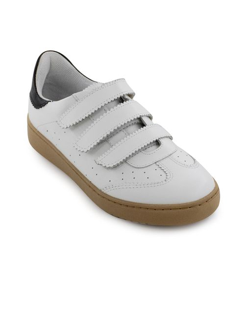 Tenis-sin-cordones-de-cuero-blanco