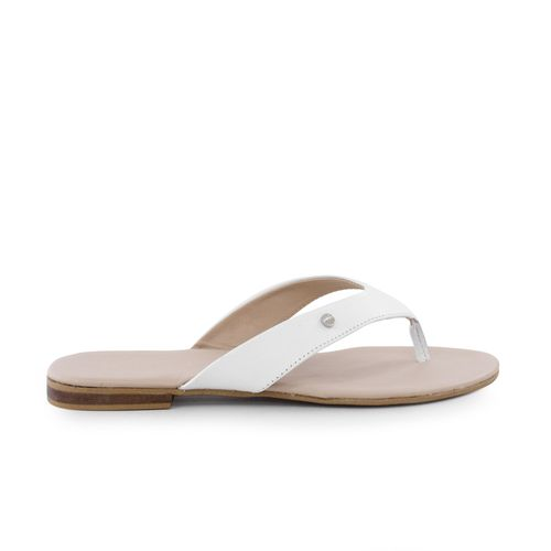 Sandalia-plana-de-cuero--blanco