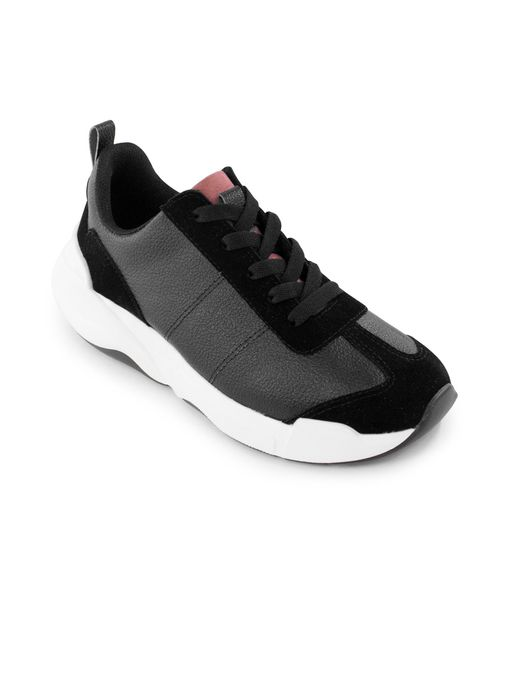 Tenis-Plataforma-de-cuero-y-sintetico-negro