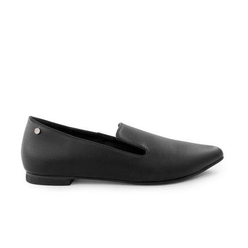 Baleta-plana-de-sintetico-negro