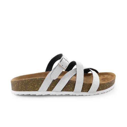 Sandalia-plana-de-sintetico-plata