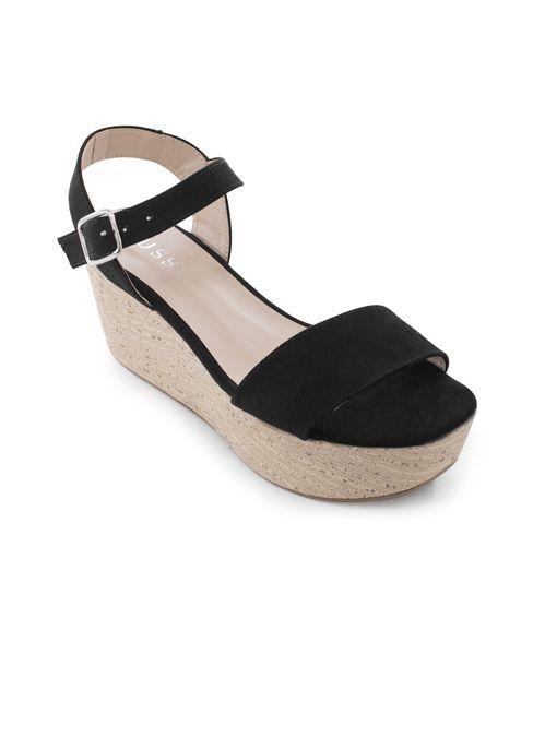 Sandalia-plataforma-de-textil-negro